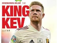 """""""Merci Kevin"""": l'hommage de la presse belge à De Bruyne """"le sauveur de la nation"""""""