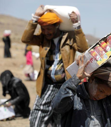 Doden en zeker 170 gewonden door brand in vluchtelingenkamp in Jemen