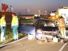 Automobilist flink gewond door ongeval op Wippolderlaan