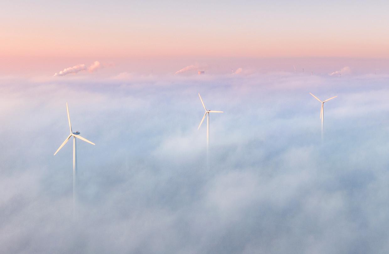 Deze drie windmolens in Houten leveren al sinds 2013 elektriciteit voor 3300 huishoudens.