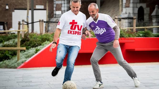"""Antwerpse voetbaliconen Marc (Van der Linden) en Marc (Schaessens) blikken vooruit op derby van zondag: """"4-3 of 3-4 zou straks zomaar kunnen"""""""