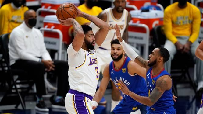 LA Lakers verliezen in Denver en vrezen voor geblesseerde Anthony Davis