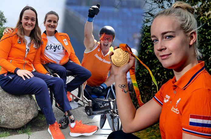 Paralympische sporters uit Oost-Nederland.