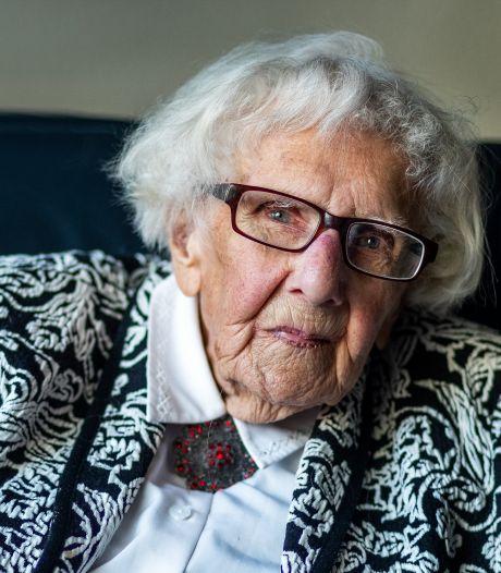 Met ouderen sol je niet, dat hoefde je ook niet te proberen met Utrechtse Maria Piël (102)