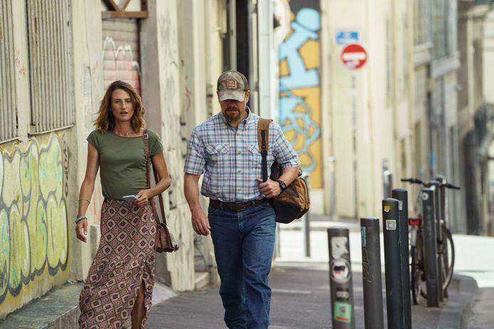 Camille Cottin et Matt Damon