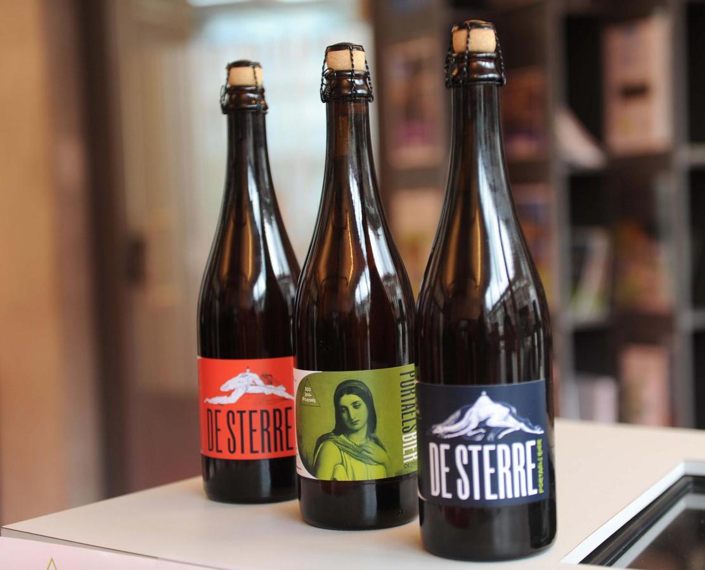 Portaelsbier De Sterre is te koop op de verschillende evenementen.