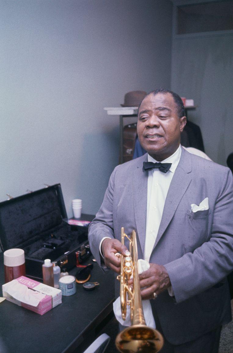 Louis Armstrong. Beeld Bettmann Archive