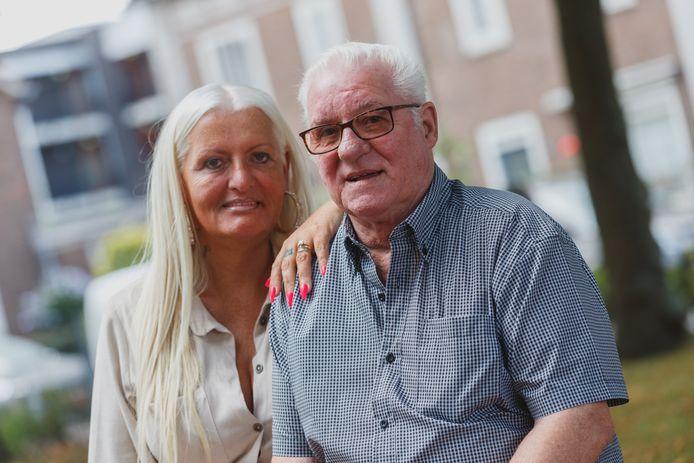 Jo-enny Vosman en haar trotse vader Arie.