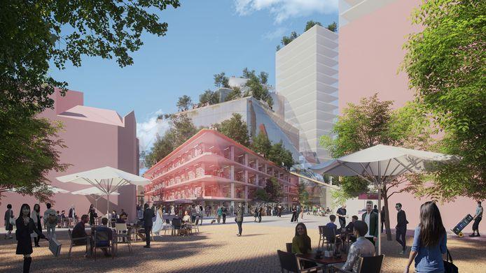 Plannen Heuvel Eindhoven MVRDV Architecten