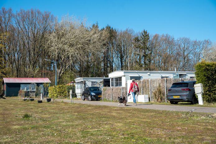 Meer dan de helft van de vaste gasten van camping Duinrand is al vertrokken.