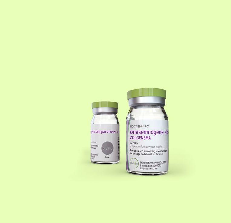 Zolgensma is een medicijn tegen de spierziekte SMA. Beeld AP