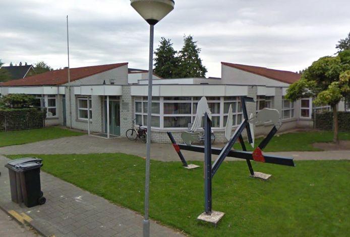 De verlaten basisschool De Wingerd in Oisterwijk.