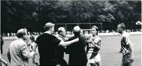 De Graafschap 30 jaar na veldslag terug op Wageningse Berg: 'Mijn voet stond de verkeerde kant op'