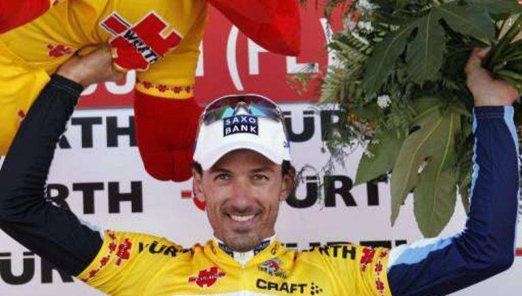 Oef, Fabian Cancellara kan het nog steeds. Beeld UNKNOWN