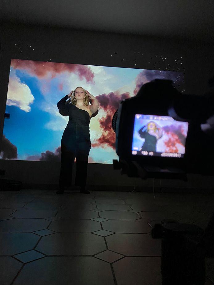 Studenten maken videoclips voor lokale artiesten
