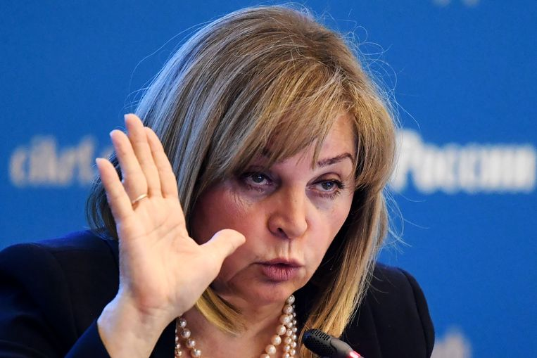 Ella Pamfilova Beeld AFP