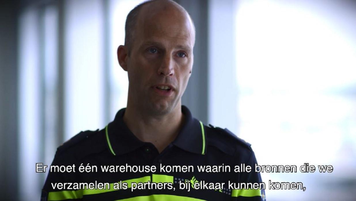 Projectleider Multidisciplinair Datacentrum Frido Koolstra.