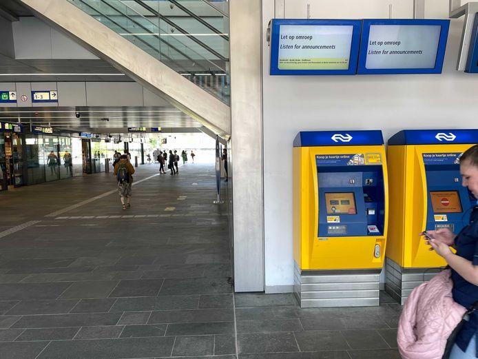 Archieffoto station Tilburg