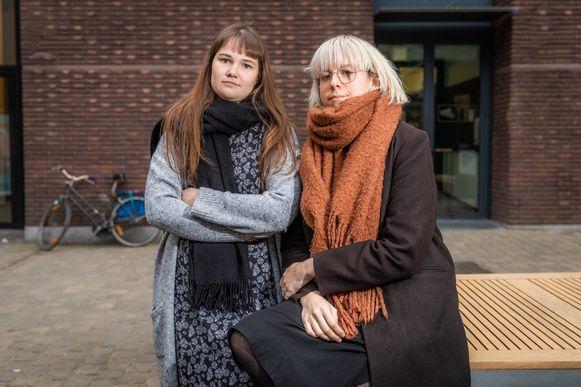 Eline Van Hooydonck (27) en Ayke Gubbels (27) organiseerden de mars voor Julie Van Espen en startten een vzw voor slachtoffers van seksueel geweld.