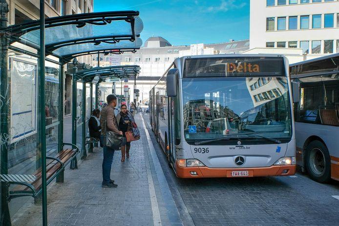 MIVB gaat verder met invoering busplan (Archiefbeeld).