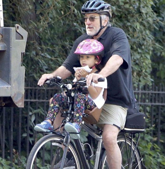 Robert De Niro met zijn dochter Helen Grace.