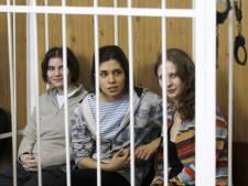 Russische meidengroep tot januari in de cel