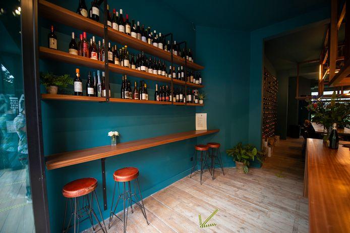 Ta-ninn, de nieuwe wijnbar in de Volkstraat 50.