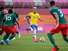 Antony en Alves met Brazilië via strafschoppen naar olympische finale