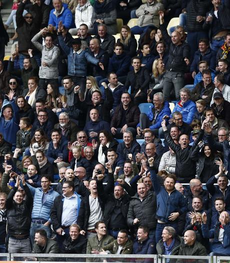 Vitesse reageert op situatie met Feyenoord-fans in het thuisvak
