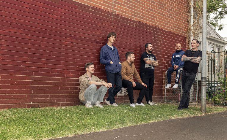 De band Viagra Boys. Beeld Humo