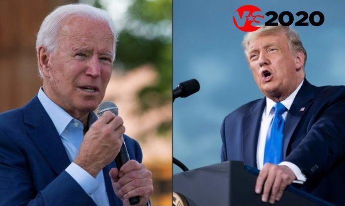 Joe Biden en Donald Trump