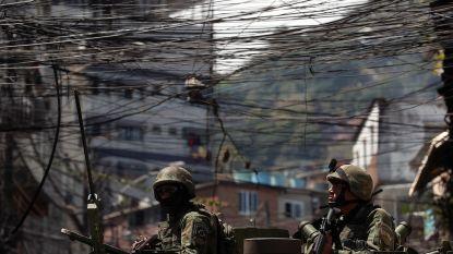 Zeker acht doden bij confrontatie tussen leger en drugsbendes in favela in Rio