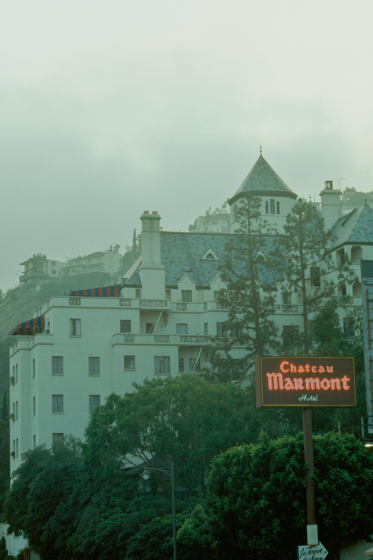 Chateau Marmont in 1991.