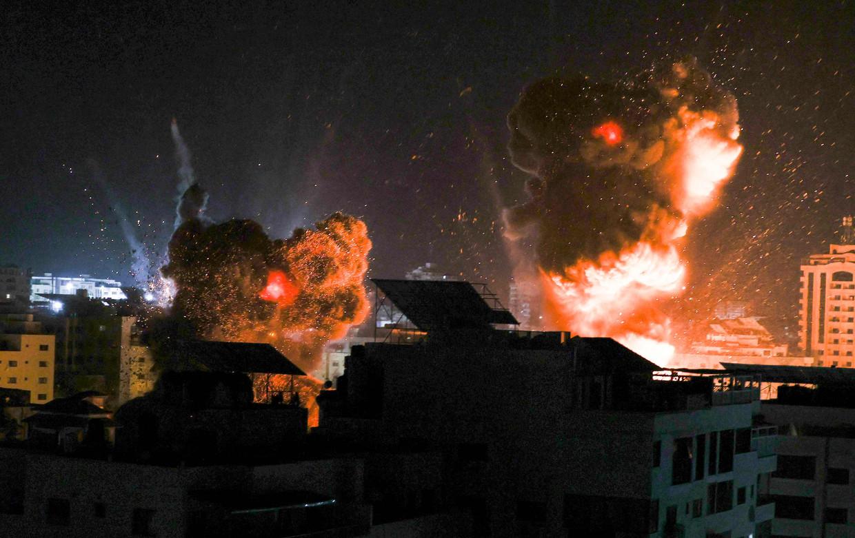 De beschietingen op Gaza gaan dag en nacht door. De nachten zijn het ergst, vertelt Laila.