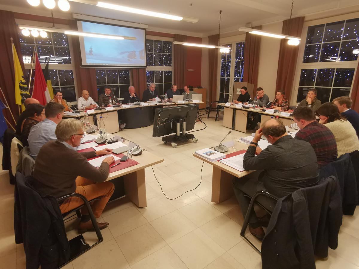 De gemeenteraad van Pittem.