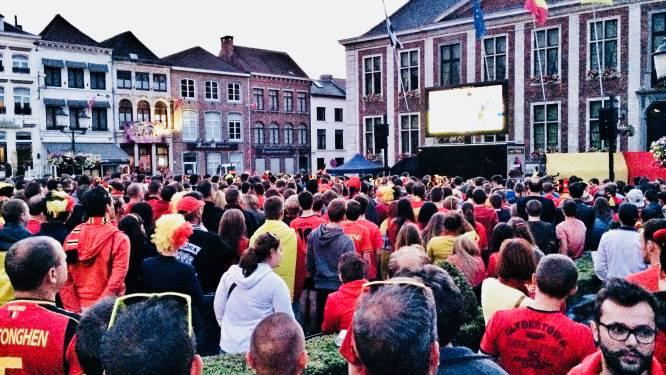'Diest Duivelt' laat 400 fans EK volgen op groot LED-scherm
