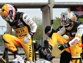 Vader en zoon Longin en Christoff Corten winnen net niet de opener van het Belcar Endurance Championship