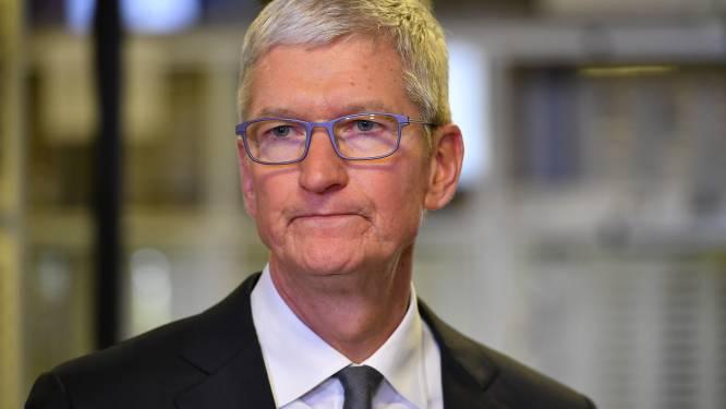 Apple-CEO Tim Cook pleit voor wereldwijde privacywetten