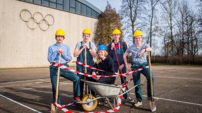 Leerlingen HASP-O uit Zepperen winnen prijs voor nieuwe speelplaats: Asfalt eruit, gras en bomen erin!