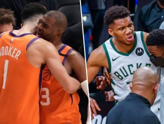 Door blessures geteisterde play-offs bereiken hun hoogtepunt: Phoenix Suns en Milwaukee Bucks starten vannacht hun strijd om de NBA-titel