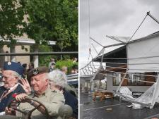 Nieuws gemist? Storm zorgt voor schade en overlast, defilé Wageningen gered