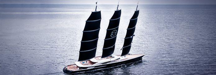 Eerder bouwde Oceanco de Black Pearl. Ook een driemaster.