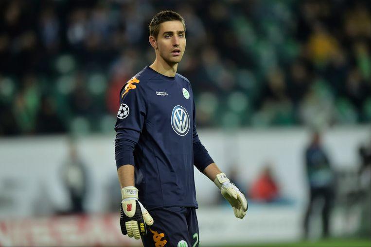 Wolfsburg-doelman Koen Casteels moest de handen niet uit de mouwen steken