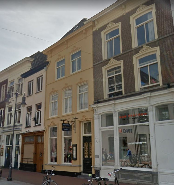 Restaurant Da Peppone in de Kerkstraat.