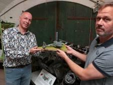 Vliegeniersmuseum weer open; Luchtmachtman Wilbert brengt verhaal van twee Britse vliegeniers tot leven