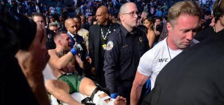 McGregor was voor hij beenbreuk opliep al geblesseerd: 'Vraag het ze, ze wisten het!'