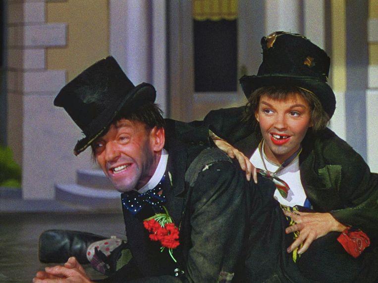 Fred Astaire en Judy Garland in Easter Parade van Charles Walters. Beeld