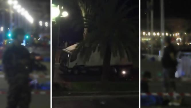 Heldhaftige motorrijder wilde vrachtwagen zelf stoppen