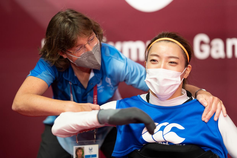 Viola Altmann is classifier bij het rolstoelrugby. 'Het doel is om de impact van een beperking zo klein mogelijk te maken'.