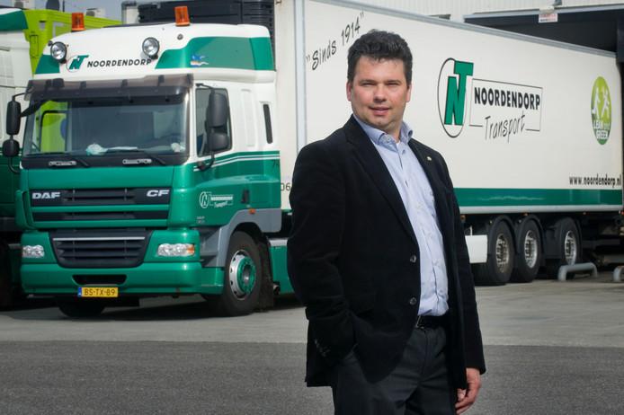 Directeur Michel Wentink van Noordendorp Transport.